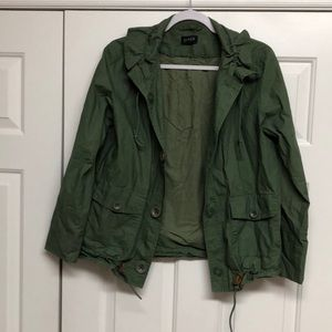 J. Crew Army Green Jacket